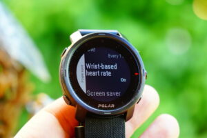 Polar Grit X: Energy-saving options, heart rate monitor